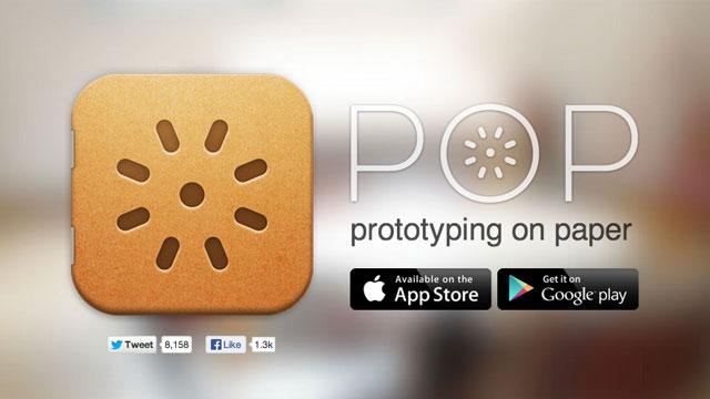 ออกแบบ Prototype ด้วย Pop app