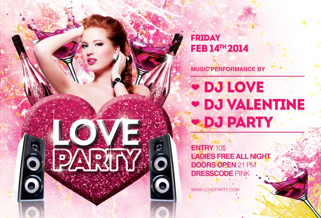 Love Party Flyer
