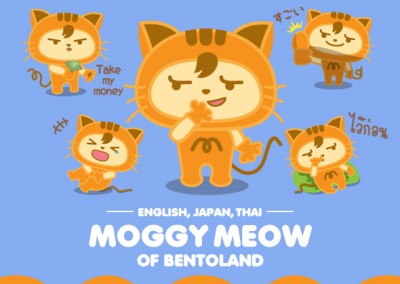 MOGGY MEOW of BentoLand